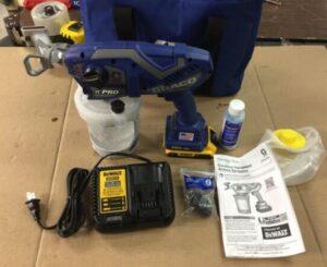 graco tc pro cordless airless paint sprayer accessories
