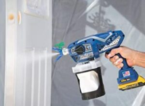 Graco ultra rechargeable battery cordless paint sprayer gun