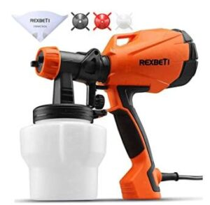 Rexbeti cheap handheld paint sprayer for interior and exterior door painting