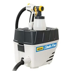 painting interior with Wagner hvlp sprayer review