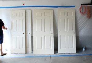 interior door paint sprayer