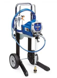 graco x7 cart airless paint sprayer for large exterior painting project