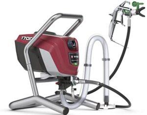 Titan Tool airless exterior paint sprayer for soft spray