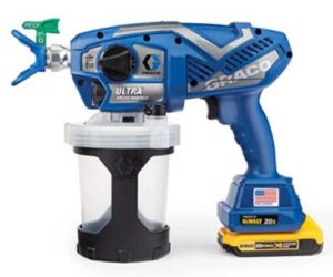 graco airless cordless spray machine for furniture