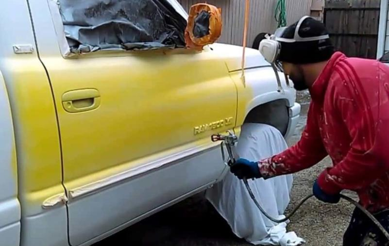 guides of auto paint gun for starters